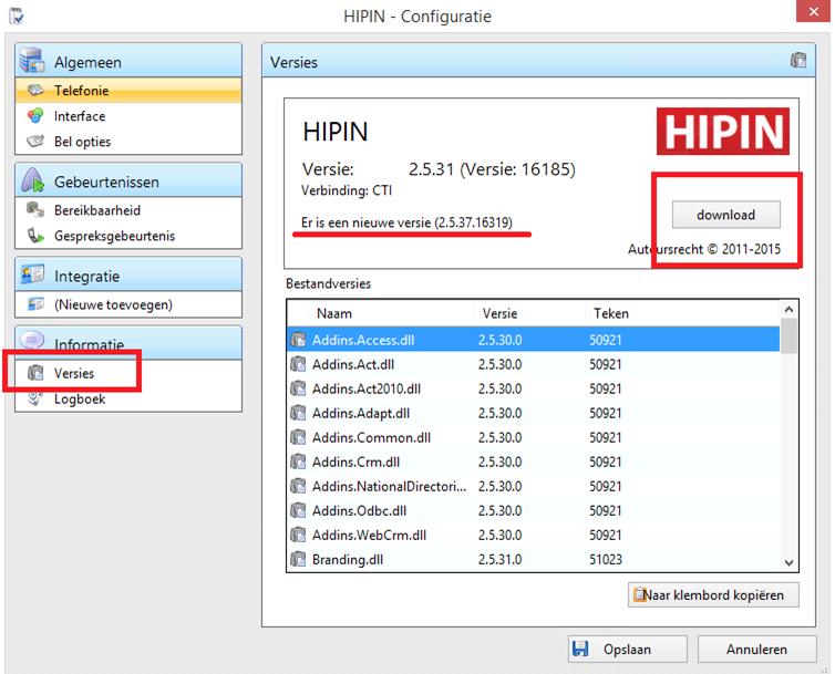 Compatible - VoIP - HIPIN Updaten