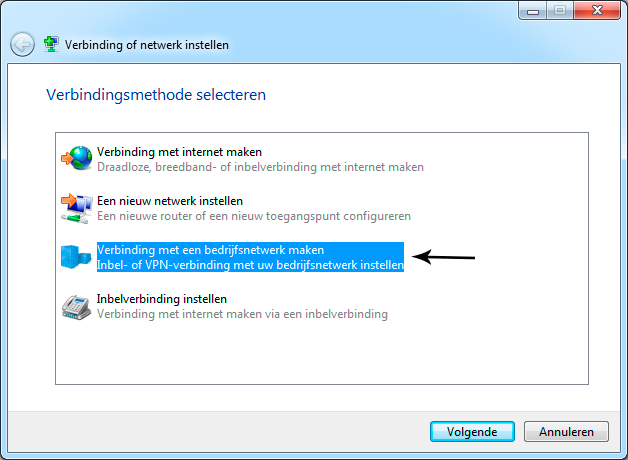 Compatible Pptp Vpn Verbinding Windows 7