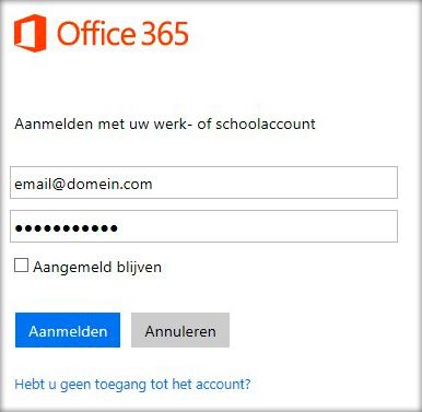Compatible - Office365 – Webmail