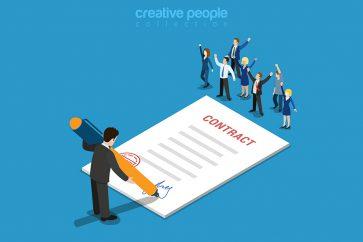 Ga vooral voor kortdurende contracten!
